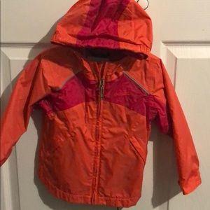 Columbia light waterproof jacket size 4t